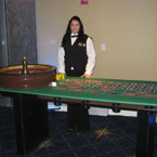 Richmond  Casino & Poker Rentals - Roulette Wheel - Dealer