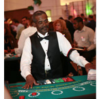 Richmond  Casino & Poker Rentals - Blackjacks - Dealer