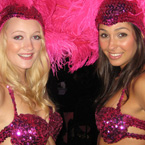 Richmond  Casino & Poker Rentals - Show Girls